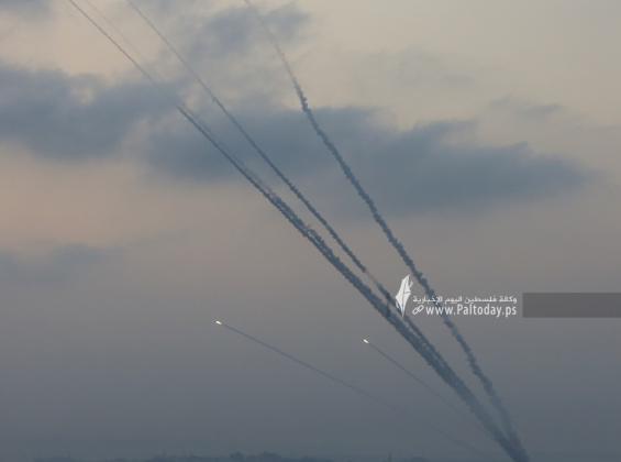 رشقات صواريخ اتجاه مدينة عسقلان (14).JPG